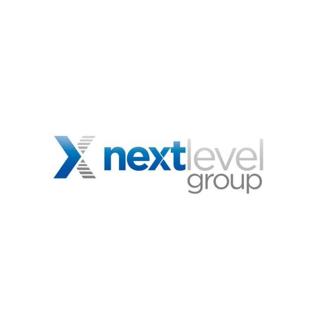 Next Level Group logo original Bauh Design | Expertos en identidad